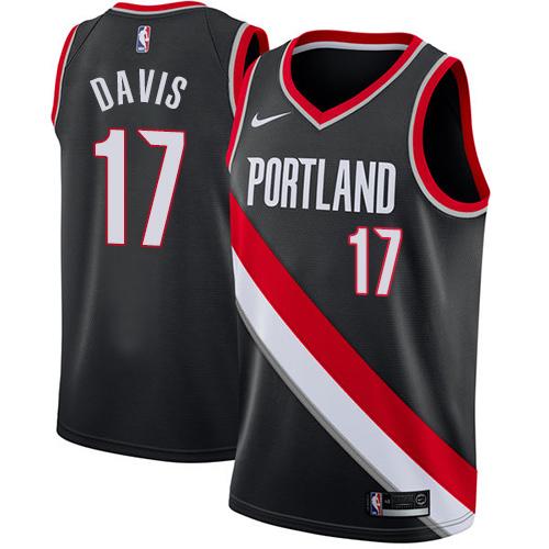 Brooklyn Nets #17 Ed Davis Association White Swingman Jersey
